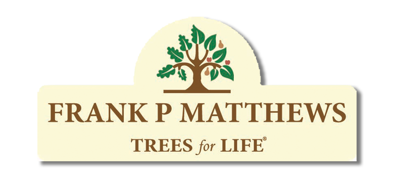 Frank Matthews Trees For Life Logo